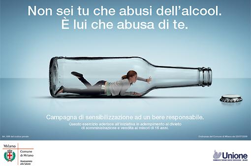 La codificazione in Balakovo da alcool